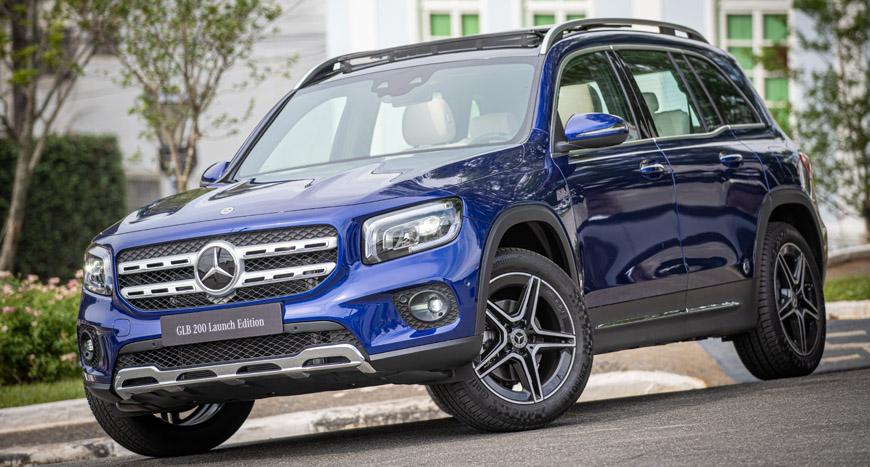 Mercedes-Benz inicia as vendas do seu novo SUV GLB 200 no Brasil