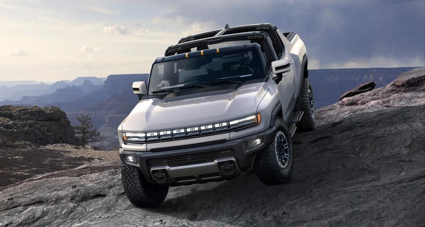 GM resgata marca Hummer com superpicape totalmente elétrica