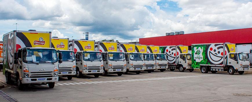 Caminhão elétrico da JAC será testado por clientes na capital paulista