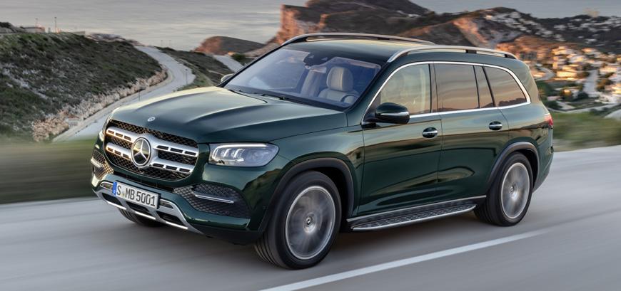 Mercedes-Benz lança no Brasil nova geração do GLS, seu maior SUV