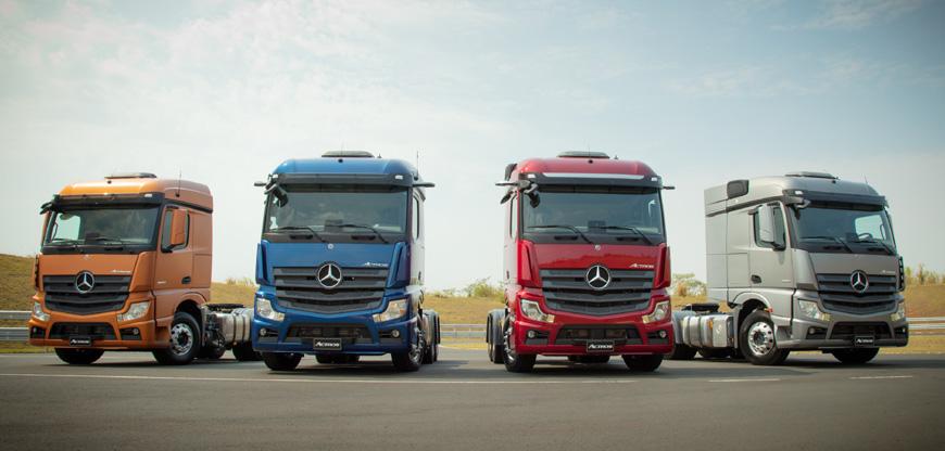 Mercedes supera marca de 1 mil novos Actros no Brasil